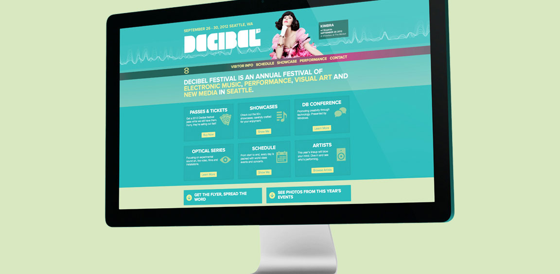 Decibel website